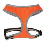 View Image 2 of Casual Canine Reflective Mesh Harness - Orange