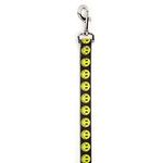 View Image 1 of Casual Canine Smiley Face Dog Leash