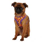 View Image 1 of Casual Canine Spooky Dog Harness - Orange and Purple