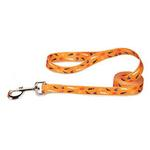 View Image 2 of Casual Canine Spooky Dog Leash - Orange