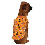 View Image 1 of Casual Canine Spooky Dog Tank Top - Orange