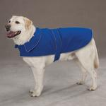 View Image 1 of Casual Canine Thermal Fleece Dog Jacket - Blue