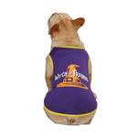 View Image 4 of Casual Canine Witch in Training Dog T-Shirt - Purple
