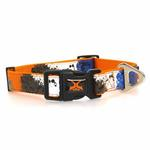 View Image 2 of X-treme Game Over Dog Collar - Orange