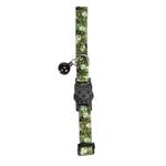 View Image 2 of Casual Kitty Bone Heads Cat Collar - Green