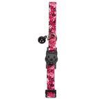View Image 2 of Casual Kitty Bone Heads Cat Collar - Pink