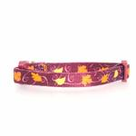 View Image 1 of Casual Kitty Harvest Cat Collar - Leaves