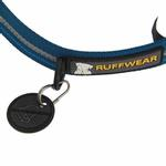 View Image 3 of Chain Reaction Dog Collar by RuffWear - Metolius Blue