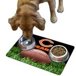 View Image 1 of Chicago Bears Pet Bowl Mat
