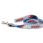 View Image 1 of Chicago Cubs Baseball Printed Dog Leash