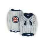 View Image 1 of Chicago Cubs Deluxe White Dog Jersey