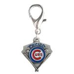View Image 1 of Chicago Cubs Pennant Dog Collar Charm