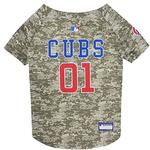 Chicago Cubs Dog Jersey - Camo
