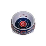 View Image 1 of Chicago Cubs Plastic Dog Bowl