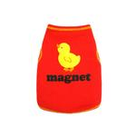 View Image 1 of Chick Magnet Dog Tank Top - Red