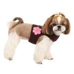 View Image 4 of Choco Mousse Pinka Dog Harness by Pinkaholic - Brown