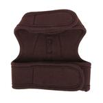 View Image 2 of Choco Mousse Pinka Dog Harness by Pinkaholic - Brown