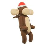 View Image 1 of Christmas Charming Balloon Collection Dog Toy - Murray the Monkey
