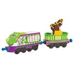 Chuggington Die-Cast - Camouflage Koko with Monkey Car