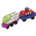Chuggington Wooden Railway - Bubbly Koko with Bubble Car