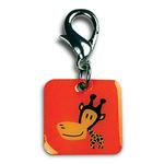 View Image 1 of Clancy the Giraffe Dog Collar Charm