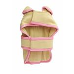 View Image 2 of Classic Manhattan Dog Coat by Dogo - Cream