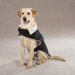 View Image 1 of Classic Sherpa Dog Jacket - Black