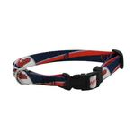 View Image 1 of Cleveland Indians Baseball Printed Dog Collar