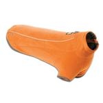 View Image 2 of Climate Changer Fleece Dog Jacket by RuffWear - Burnt Orange