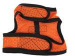 View Image 4 of Cloak & Dawggie Cool Mesh Harness Vest - Orange