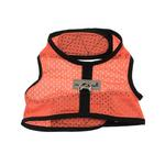 View Image 3 of Cloak & Dawggie Cool Mesh Harness Vest - Orange