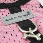 View Image 2 of Cloak & Dawggie Cool Mesh Harness Vest - Pink