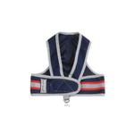 View Image 1 of Cloak & Dawggie Reflective Mesh Step-N-Go Harness - Navy/Red