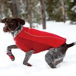 View Image 1 of Cloud Chaser Soft Shell Dog Jacket by RuffWear - Red Rock