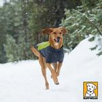 View Image 2 of Cloud Chaser Soft Shell Dog Jacket by RuffWear - Forest Green