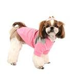 View Image 3 of Coco Dog Shirt by Puppia - Pink