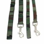 View Image 2 of Hunter Dog Leash by Puppia - Green Camo