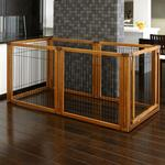 View Image 2 of Convertible Elite Pet Gate - 6 Panel