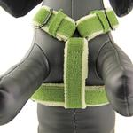 View Image 2 of Cozy Hemp Harness by Planet Dog - Apple Green
