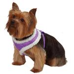 View Image 1 of Cozy Sherpa Dog Harness by East Side Collection - Ultra Violet