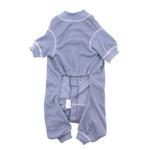 View Image 3 of Cozy Thermal Dog Pajamas - Blue