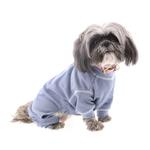 View Image 1 of Cozy Thermal Dog Pajamas - Blue