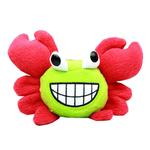 View Image 1 of Crabby Little Dog Toy - Red
