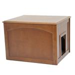 Crown Cat Litter Cabinet - Mahogany