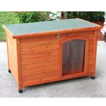 View Image 1 of Crown Pet Cedar Dog House with Slant Roof