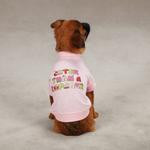 View Image 2 of Cuter Than a Cupcake Dog T-Shirt - Pink
