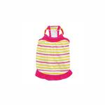 View Image 1 of Cutie Pie Striped Summer Dog Dress by Dogo