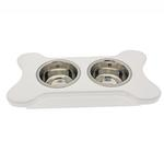 View Image 1 of Dainty Bone Doggie Diner - Whitewash
