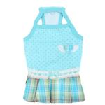 View Image 1 of Dainty Dog Dress by Pinkaholic - Aqua