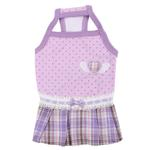View Image 3 of Dainty Dog Dress by Pinkaholic - Violet